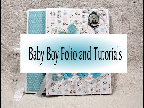 **For Sale** Baby Boy Photo Folio with Tutorials - YouTube