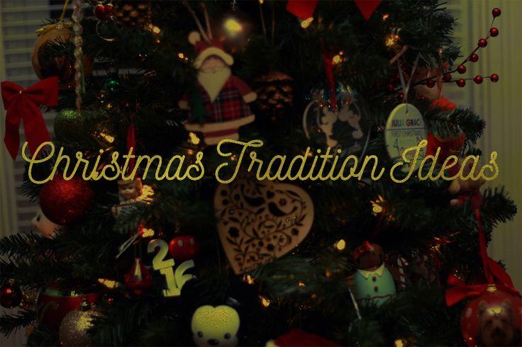 Christmas traditions to start! Christmas tree Christmas ...