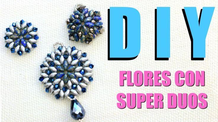 DIY! TRES FLORES CON SUPER DUOS! CLASE DE JOYERÍA! PAOLA HERRERA - YouTube