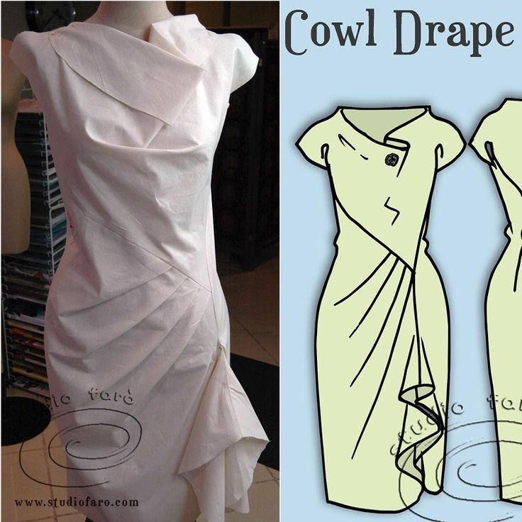 Learn to turn darts into drape. Drape Dress Patterns - Make Two in this Class! FRI 17 NOV #COOLAMON #PatternMakingClasses #Riverina #DrapePatterns