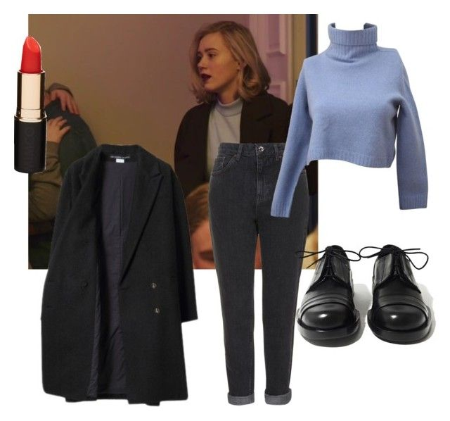 """Skam:Noora"" by sannalagesenfenheim on Polyvore featuring Les Prairies de Paris, Topshop, Mimco and Achilles Ion Gabriel"