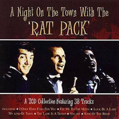 Dean Martin A Night On the Town With the Rat Pack CD NEW