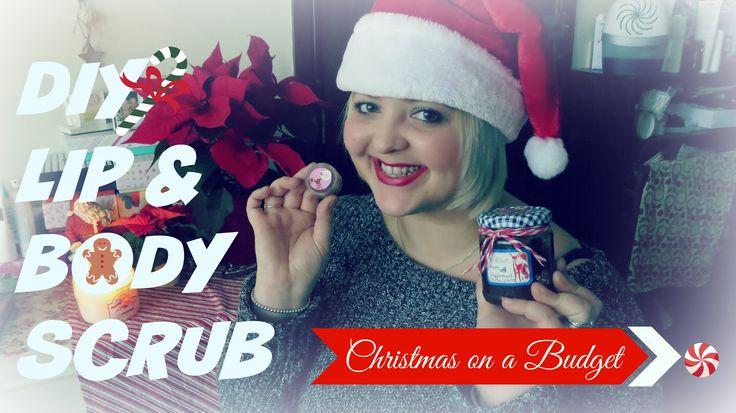☆ DIY Lip & Body Scrubs   Perfect Christmas presents ☆