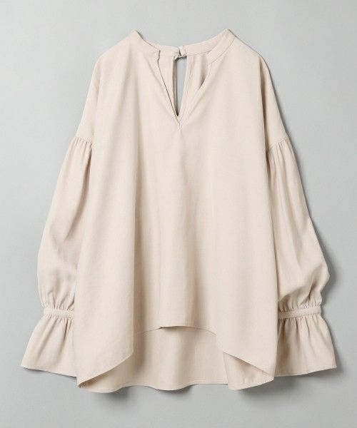 【ZOZOTOWN|送料無料】JEANASIS(ジーナシス)のシャツ/ブラウス「ストラップカフスプルオーバー/742243」(742243)を購入できます。