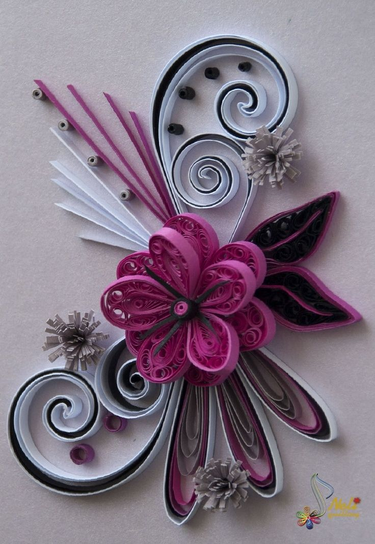 Quilling a collection of diy and crafts ideas to try for Quilling patterns for beginners