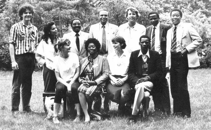 "Marjan Boelsma on Twitter: ""1986: Paris J. Mlambo (PAC chairman), late Urbania Mothopeng, C.Ngcukana (NACTU),J.Qwelane, G.Ebrahim (PAC f.secretary) #ArchiveAzaniaCom https://t.co/4uNHJaGLsX"""