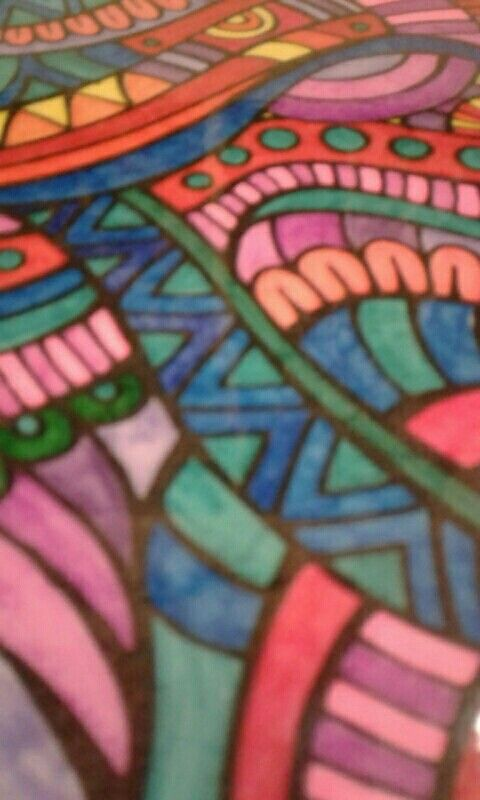 Patterns. I think this is pattern because is has a design.