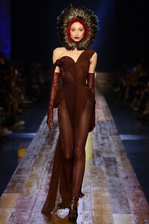 Jean Paul Gaultier | Haute Couture | Fall 2016 Model: Alexandra Agoston