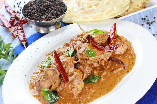 Chicken Chettinad Curry - Burgundy Box
