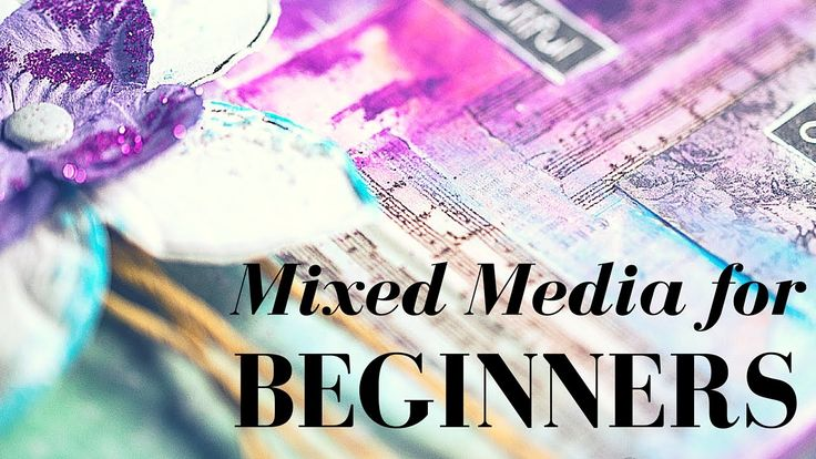 Mixed Media for beginners:  how to use Gelatos