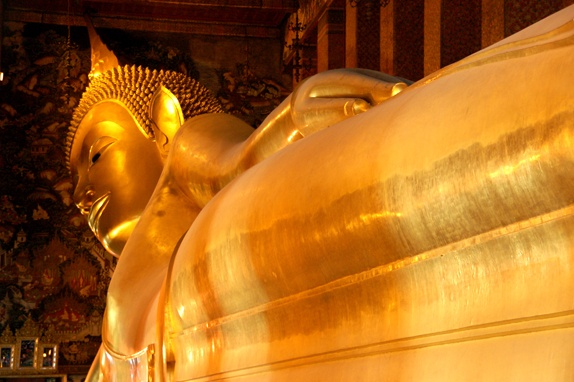 The reclining buddha, Bangkok.
