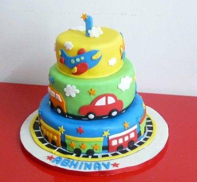 tortas de niños para cumpleaños de un año
