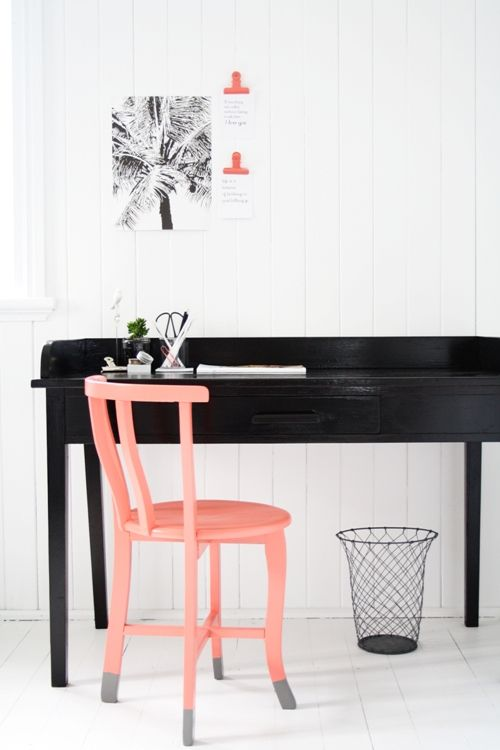 Simone Barter's complete Desk & Chair - We absolute love this! @simonebarter #feastwatson #relove