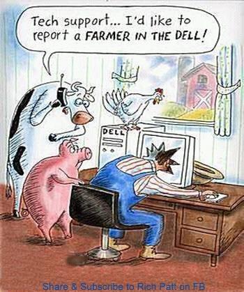 Just a little farm humor!