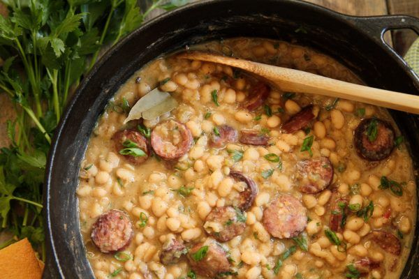 South Louisiana-Style White Beans & Rice :: Recipes :: Camellia Brand