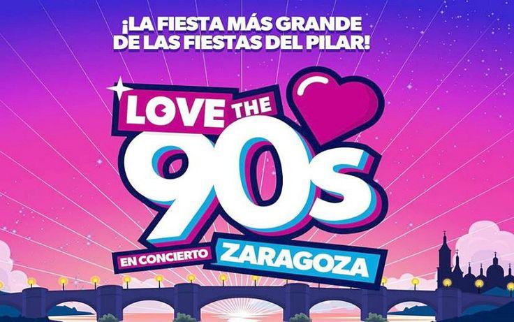 Concierto de Love the 90s en las Fiestas del Pilar 2017