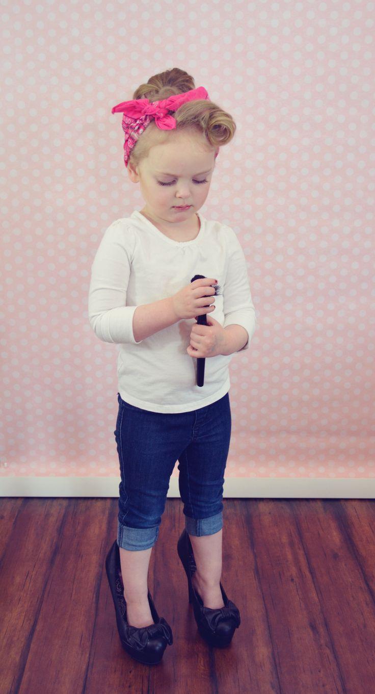 Toddler Photography, Rockabilly Girl Amber Kym Photography, Bend Oregon.