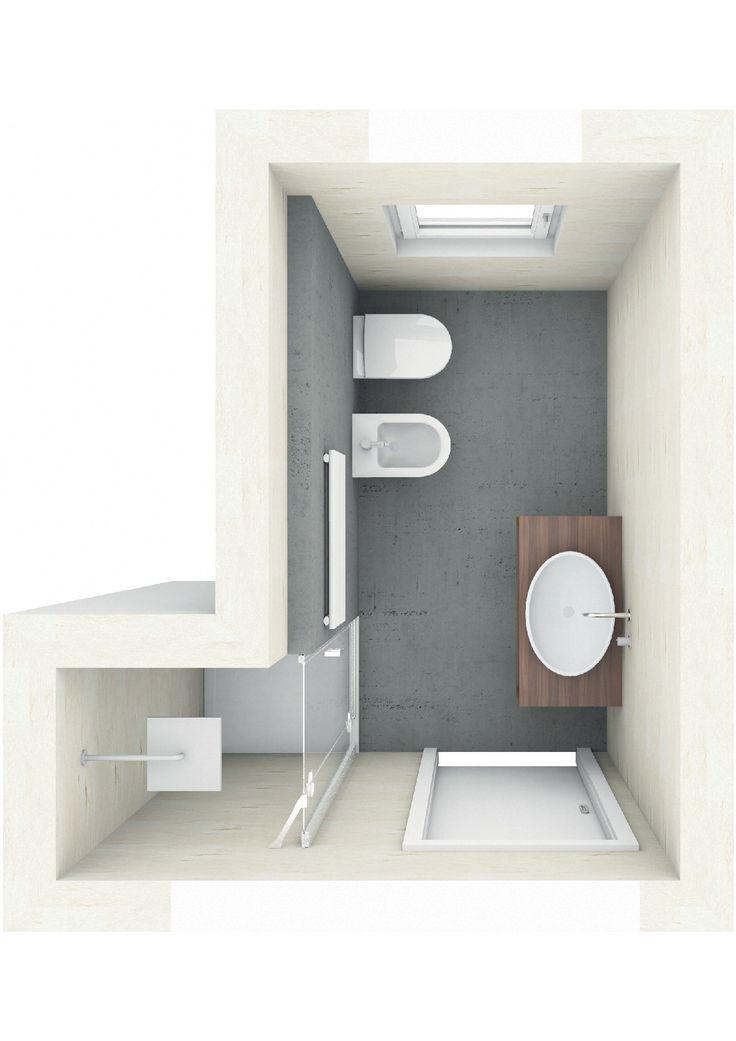 Badplanung mit Duschnische Badarchitektur gut geplant Pinterest