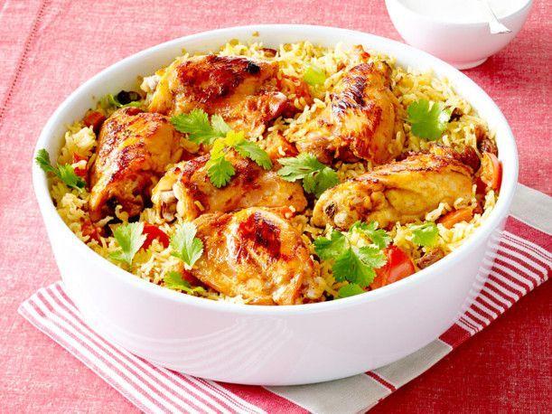 Unser beliebtes Rezept für Indisches Hähnchen-Curry mit Reis und mehr als 55.000 weitere kostenlose Rezepte auf LECKER.de.