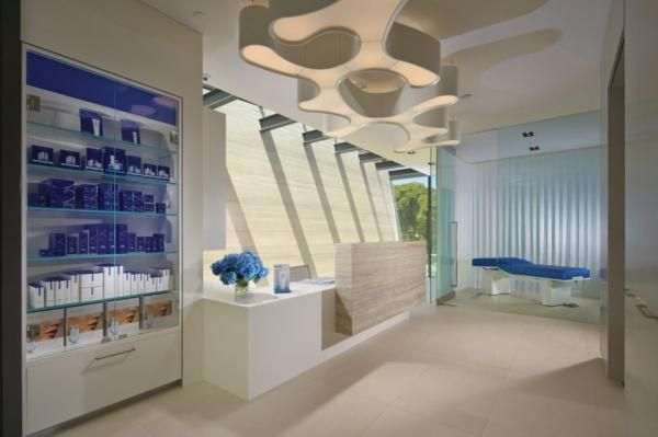 Horst Architects have designed The Obagi Skin Health Institute in Laguna Beach, California – a boutique medical, retail and educational facility.
