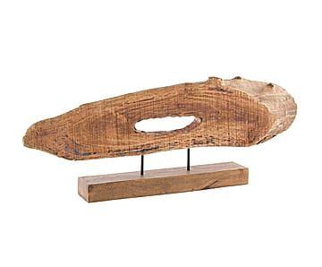 Декоративная фигурка - манго - коричневый - В32,5хШ9,5хД73
