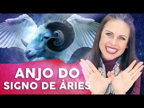 Astrologia O Anjo Da Guarda Do Signo De Aries Youtube Em 2020