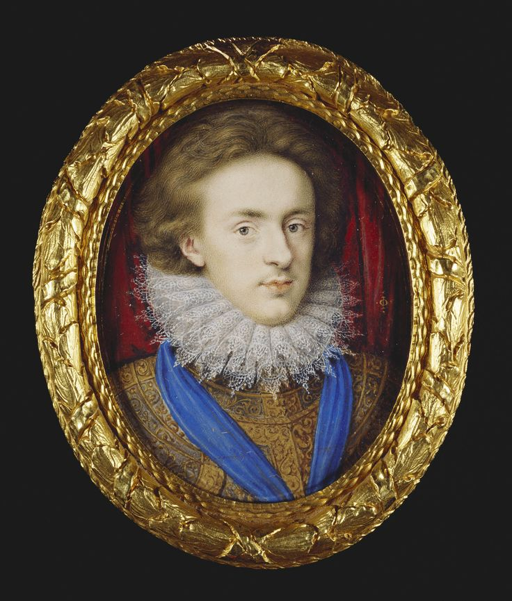 Isaac Oliver (c. 1565-1617) - Henry Frederick, Prince of Wales (1594-1612)