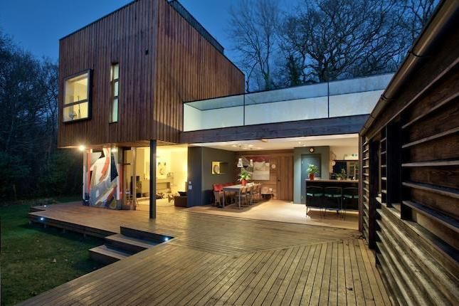 Grand Designs house on the Isle of Wight