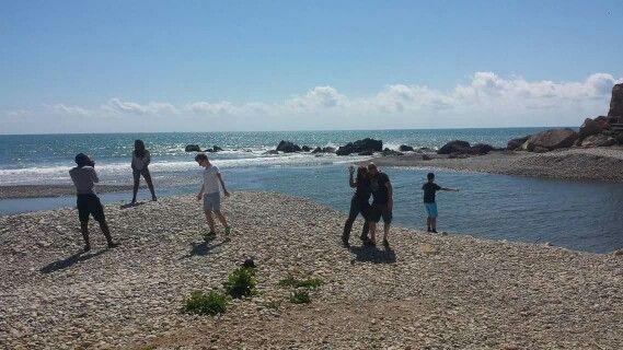 Visita als #bunquers i platja de #SoldeRiu