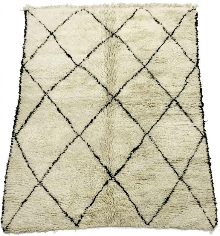 Kelim Marokkaanse Berber tapijt Beni Ouarain 210 x 160 cm