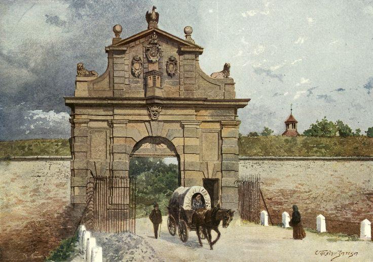 Václav Jansa - Brána vyšehradská