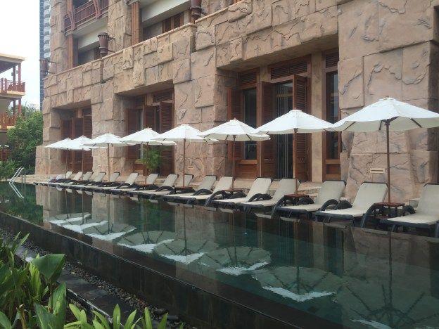 Lap Pool at the Centara Grand Mirage Beach Resort Pattaya, Thailand