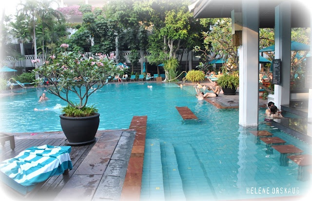 Poolside at Marriott resort & Spa- Bangkok