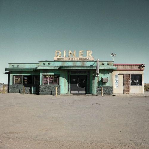 photography landscape America United States desert diner filter