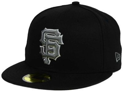 San Francisco Giants MLB Black Graphite 59FIFTY Cap Hats