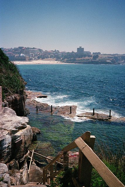 Obsessed with ocean pools. McIvers Baths at Coogee, NSW Australia I adored these pools as a kid!