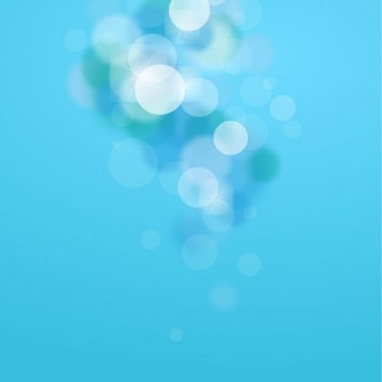 abstract blue bokeh background vector graphic art