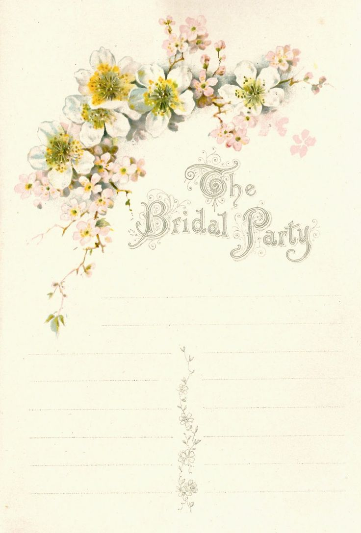 Vintage Wedding Graphics