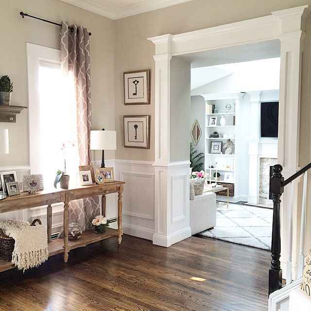 Entry into the living room home sweet home pinterest the o 39 jays and living rooms Entry to master bedroom