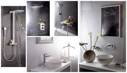 Robinetterie pour salle de bains série SETA de ALPI.