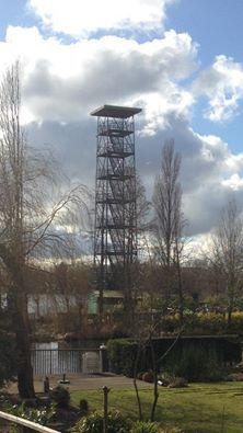 Rotterdam Hillegersberg - Uitkijktoren, Plaswijkpark.