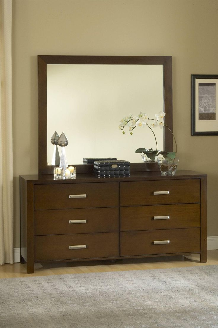 Modus Furniture Riva Chocolate Dresser Bed And Bedroom