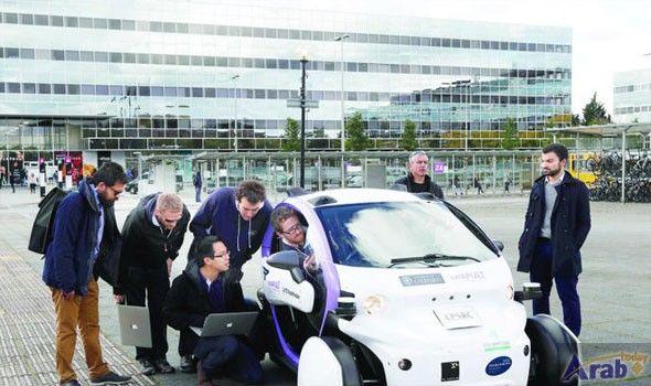 Driverless cars hit UK streets in landmark…