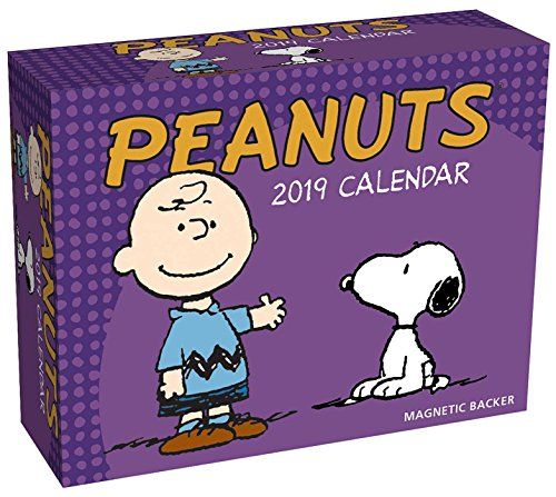 Peanuts 2019 Mini Day-to-Day Calendar - Bring smiles and laughs into your home or office with the Peanuts 2019 Mini Day-to-Day Calendar.Each full-color page features a pose of CHARLIE BROWN, SNOOPY, LINUS, SALLY, LUCY, or one of the other lovable PEANUTS characters.