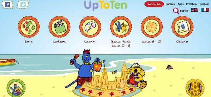 """""""Up to ten"""" este un site în limba engleză unde nu o să găsiți doar muzică pentru copii, ci și jocuri interactive care îi vor ajuta pe micuții voștri să învețe limba engleză. Ceea ce îl face interesant, este faptul că site-ul găzduiește conținut pentru copii de toate vârstele, așa că sigur o să vă fie de folos."""