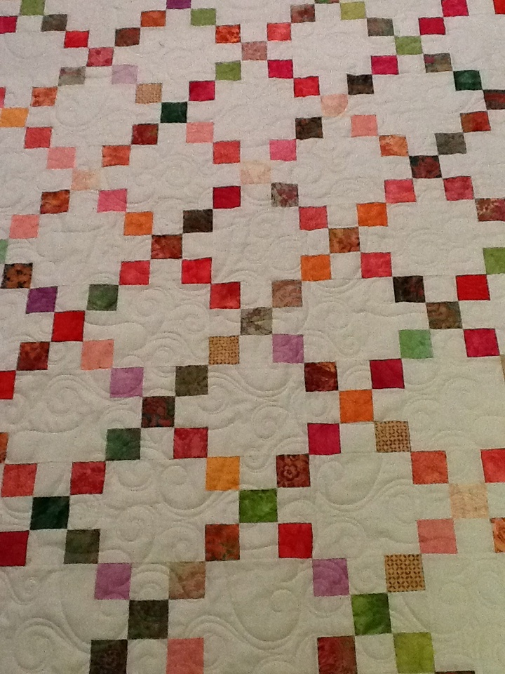 95 best images about Irish Chain Quilts on Pinterest Quilt, Postage stamp quilt and Nine patch ...