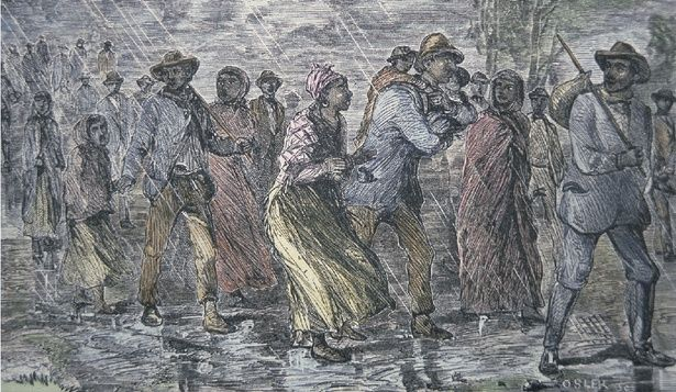 """Adam Goodheart's review of Eric Foner's: """"The Secret History of the Underground Railroad"""" ... Foner, again standing long-held understandings on their head, argues that it was a lot more 'above-ground' and out in-the-open than has been popularly represented -- and that the mortal risk was often faced by slaves fleeing to freedom largely on their own, despite the efforts of abolitionist networks."""