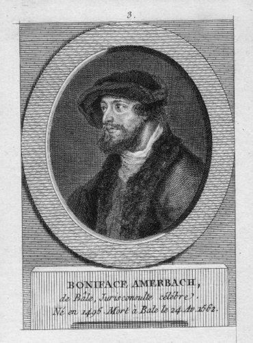 Amerbach, Basilius (1533-1591)