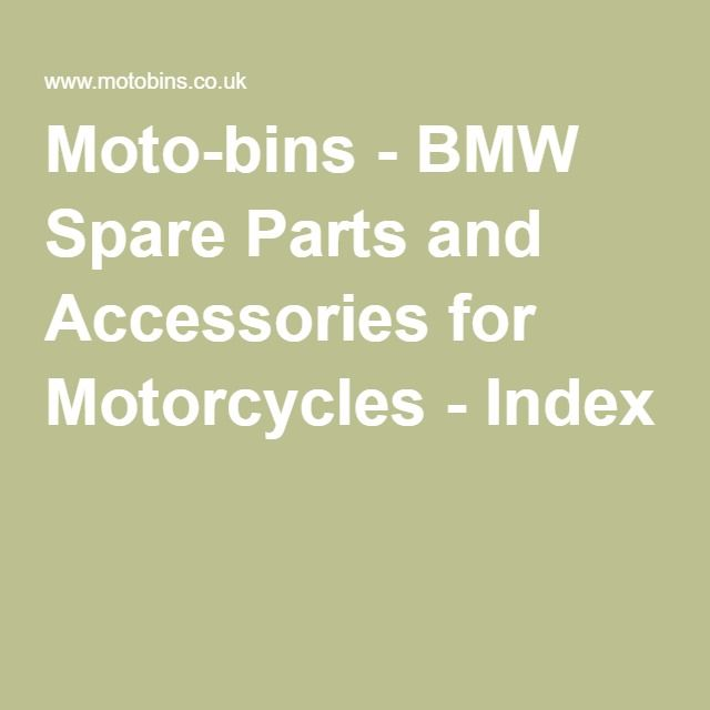 moto-bins - bmw spare parts and accessories for motorcycles
