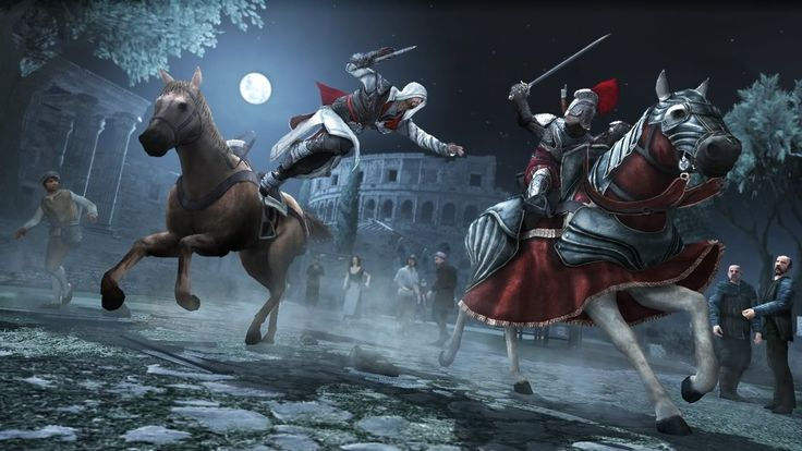 Assassin's Creed Brotherhood Video Game Image